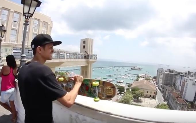 """Confira o Vídeo """"Skate de Cartão Postal"""" do Atleta Rodrigo Santil - (Clique e Compartilhe)"""