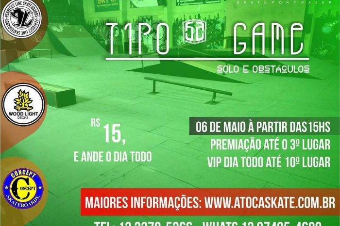 "A Toca Skate Plaza Apresenta ""Tipo Game"" Solo e Obstáculos - (Clique e Compartilhe)"