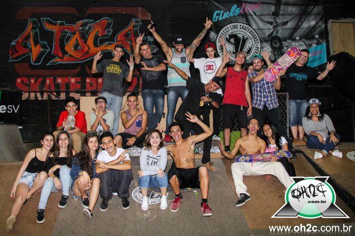 Fotos do Go Skate Day realizado na A Toca Skate Plaza em São Vicente/SP - (Clique e Compartilhe)