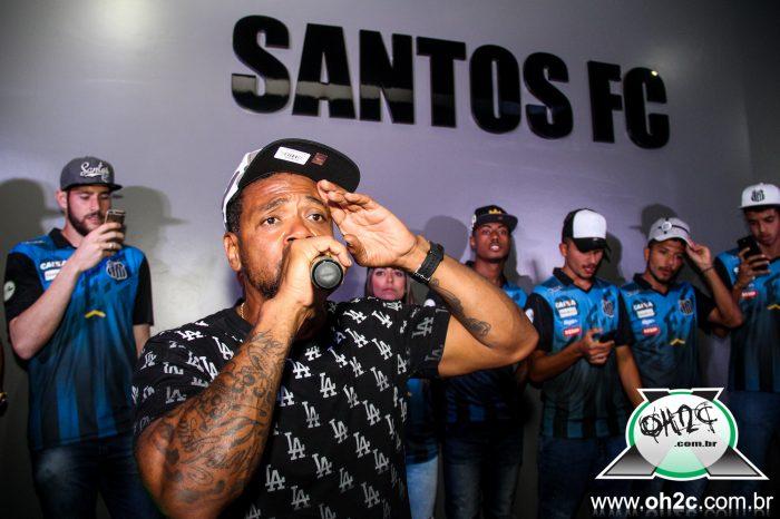 Fotos do Lançamento dos Cap's New Era Brasil na Santos Store com o Rapper Edi Rock e Dj Kalfani - (Clique e Compartilhe)