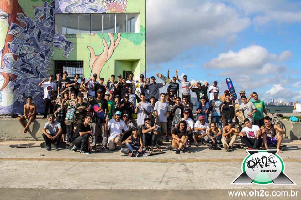 Fotos do Go Skate Day da Hermano Skate Shop no Emissário Submarino em Santos/SP - (Clique e Compartilhe)