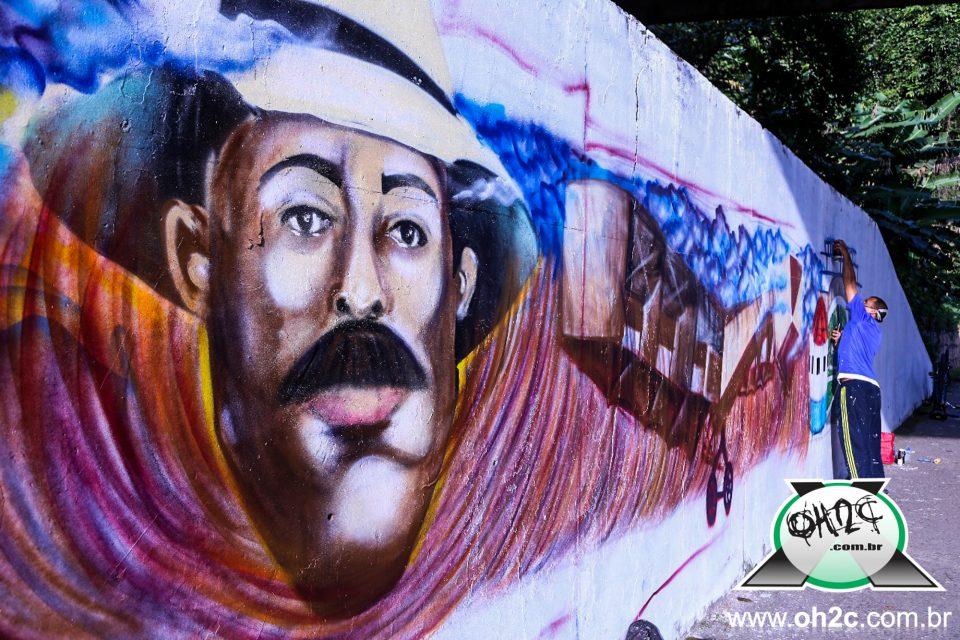 """Ajude o """"Projeto SRB GRAFFITI"""" da cidade do Guarujá/SP para representar o Brasil no Meeting Bajos de Menas no Chile - (Clique e Compartilhe)"""