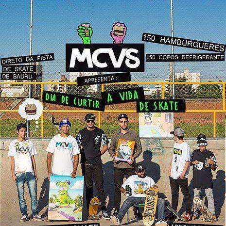 """MCVS Skate apresenta """"Dia de Curtir a Vida de Skate em Bauru"""" - (Clique e Compartilhe)"""