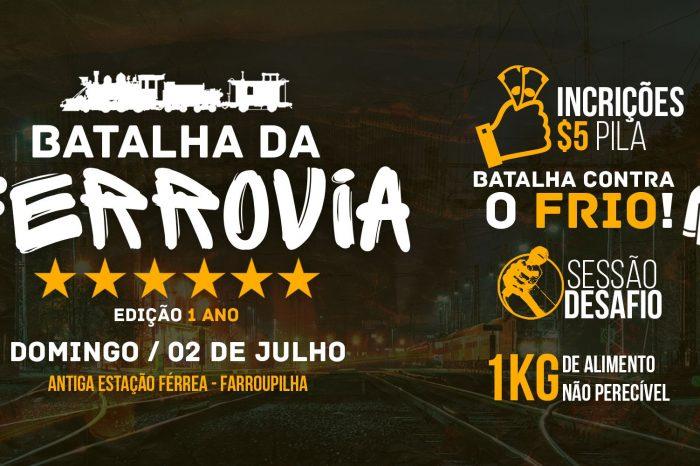 """Batalha da Ferrovia apresenta """"Batalha Contra o Frio - Edição 1º Ano"""" em Farroupilha/RS - (Clique e Compartilhe)"""