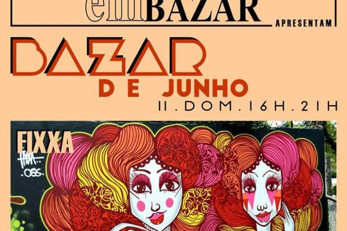 Graffiteira Fixxa é Convidada para o Bazar de Junho na Casa Velha em Santos/SP - (Clique e Compartilhe)