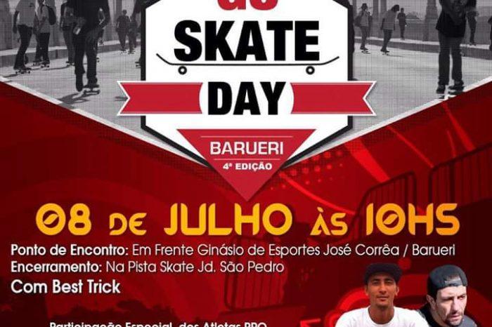 """4º Edição do """"Go Skate Day"""" da cidade de Barueri/SP com Skatistas Profissionais - (Clique e Compartilhe)"""