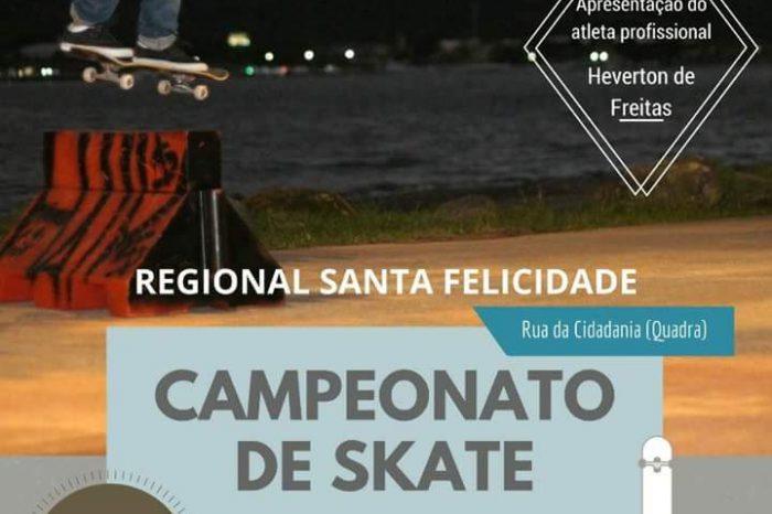 """Loja Anjuss apresenta Campeonato de Skate """"Regional Santa Felicidade"""" - (Clique e Compartilhe)"""