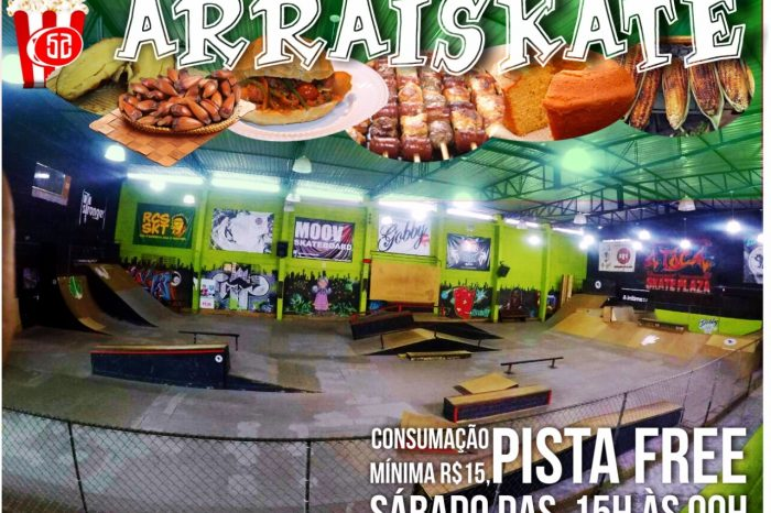 """A Toca Skate Plaza apresenta Sábado dia 03/06 """"ARRAISKATE"""" em São Vicente/SP - (Clique e Compartilhe)"""