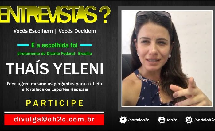 """Confira a Chamada da Atleta Thaís Yeleni para o Projeto """"Vocês Escolhem, Vocês Decidem"""" Participe - (Clique e Compartilhe)"""