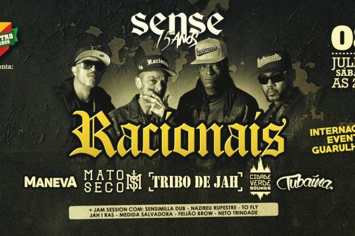 """Racionais MC's e Convidados no Encontro das Tribos """"Sense Skateshop 15 Anos"""" - (Clique e Compartilhe)"""