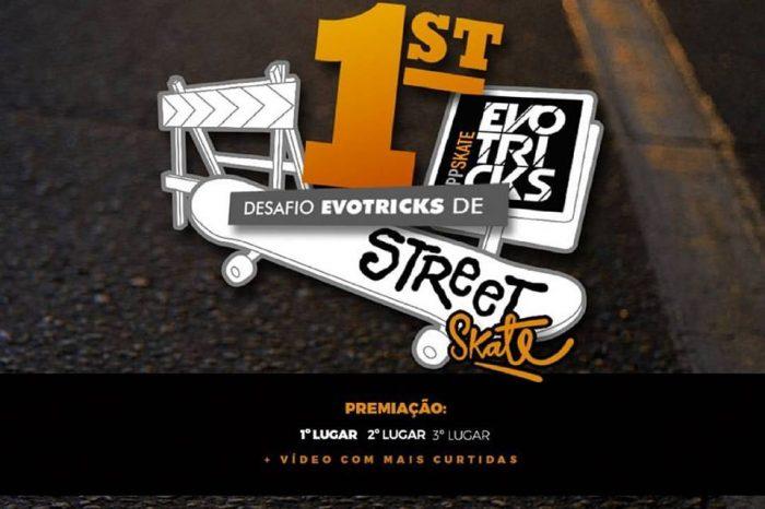 """1º Desafio Street Skate no Evotricks """"Baixe GRÁTIS o App na Play Store"""" - (Clique e Compartilhe)"""