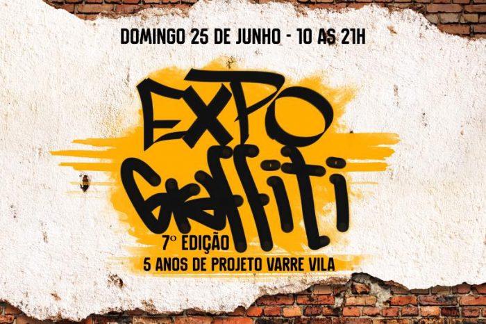 """Domingo 25/06 Acontece a 7ª Edição da Expo Graffiti em """"Comemoração aos 5 Anos de Projeto Varre Vila"""" - (Clique e Compartilhe)"""