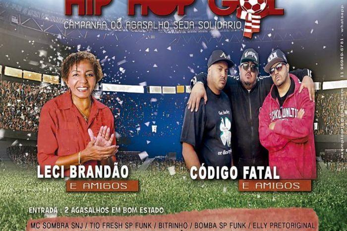 Hip-Hop Gol 2017 - Leci Brandão e Amigos X Código Fatal e Amigos em Barueri/SP - (Clique e Compartilhe)
