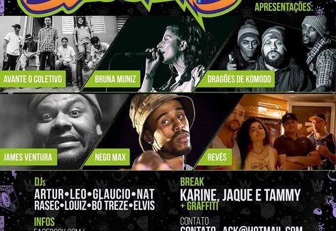"""Domingo dia 23/07 tem Kebrada Sessions Special - """"Comemorando 4 Anos"""" - (Clique e Compartilhe)"""