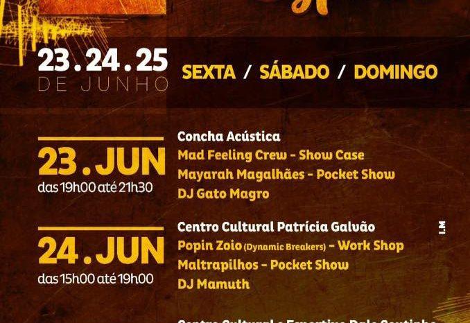 Danças Sociais do Hip Hop terão Programação Especial em Santos/SP - (Clique e Compartilhe)