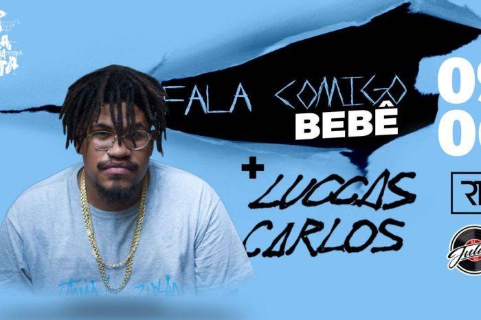 """Projeto #FocaNaSexta apresenta """"Fala Cmg BB"""" com o Rapper Luccas Carlos no Moby Dick em Santos/SP - (Clique e Compartilhe)"""
