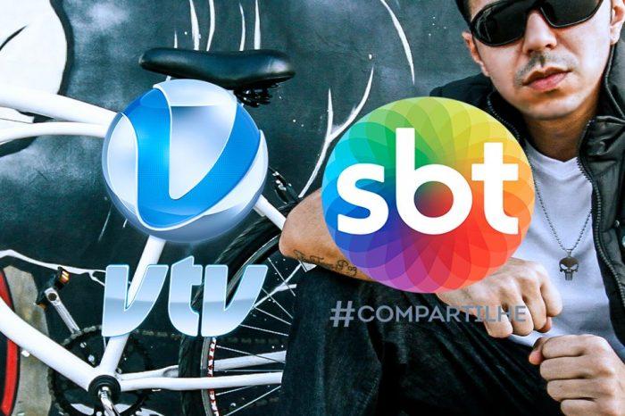 """Dia 16/06 (sexta-feira), Vai rolar Rap Nacional """"Santista"""" no SBT - VTV com o Rapper Rica Silveira - (Clique e Compartilhe)"""