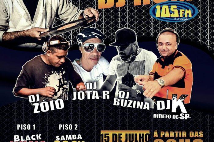 """The Joy Bar & Club apresenta """"Festa do DJ Hum"""" e Convidados em Santos/SP - (Clique e Compartilhe)"""