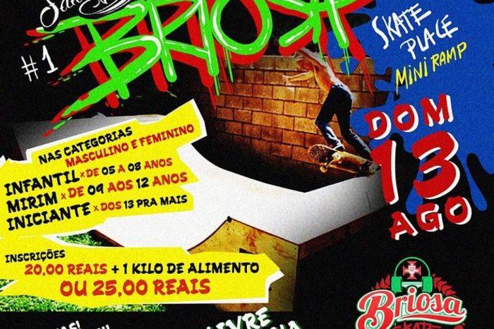 """1º Campeonato Briosa Skate Place """"Mini Ramp"""" em Santos/SP - (Clique e Compartilhe)"""