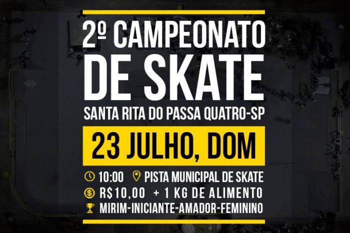2° Campeonato de Skate de Santa Rita do Passa Quatro/SP - (Clique e Compartilhe)
