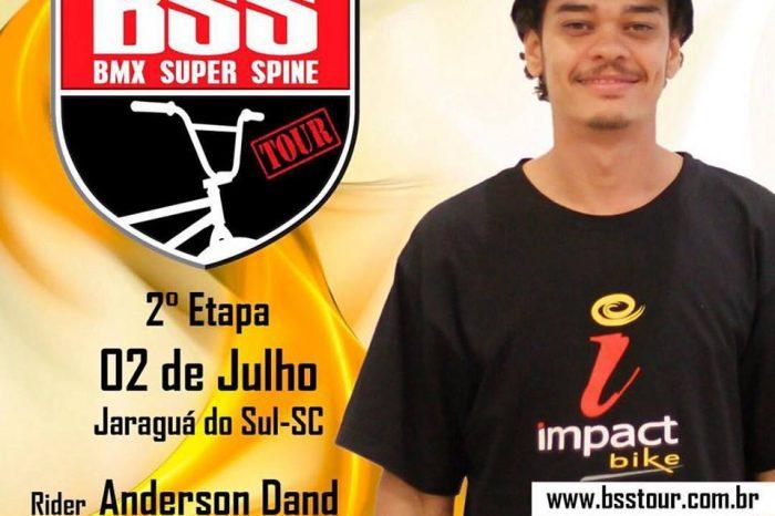 """Anderson Queiroz """"Dand"""" é o Representante da Baixada Santista na 2º Etapa do BSS TOUR """"Circuito de BMX"""" - (Clique e Compartilhe)"""