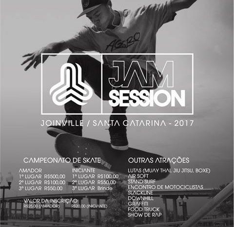 "Intime Culture apresenta ""Jam Session 2017"" em Joinville/SC - (Clique e Compartilhe)"