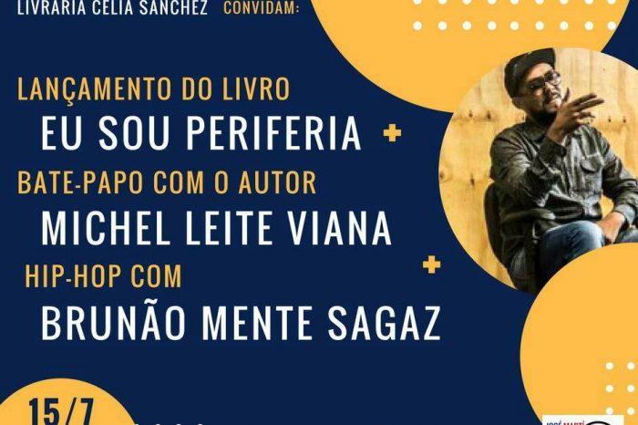 """Associação Cultural José Marti em Santos/SP recebe o Escritor Michel Leite Viana """"Lançamento do livro Eu Sou Periferia"""" - (Clique e Compartilhe)"""