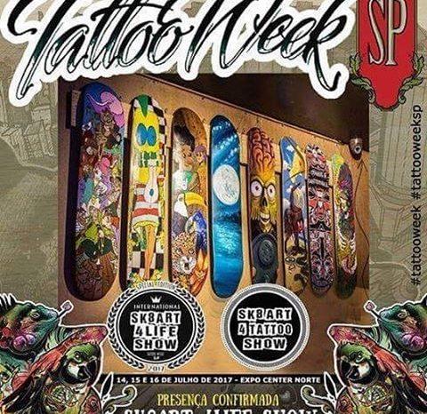 Muita Arte, Break e Rap Nacional na Tattoo Week São Paulo 2017 - (Clique e Compartilhe)