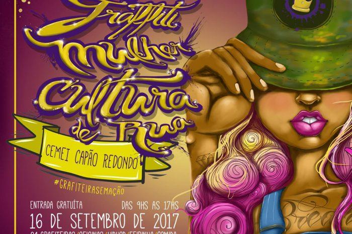 1º Encontro Graffiti Mulher Cultura de Rua no Capão Redondo/SP - (Clique e Compartilhe)
