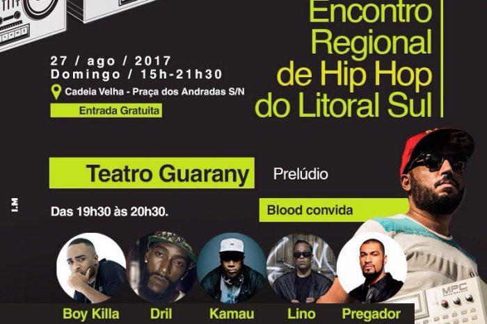 Confira a Programação do Encontro Regional de Hip Hop do Litoral Sul - (Clique e Compartilhe)