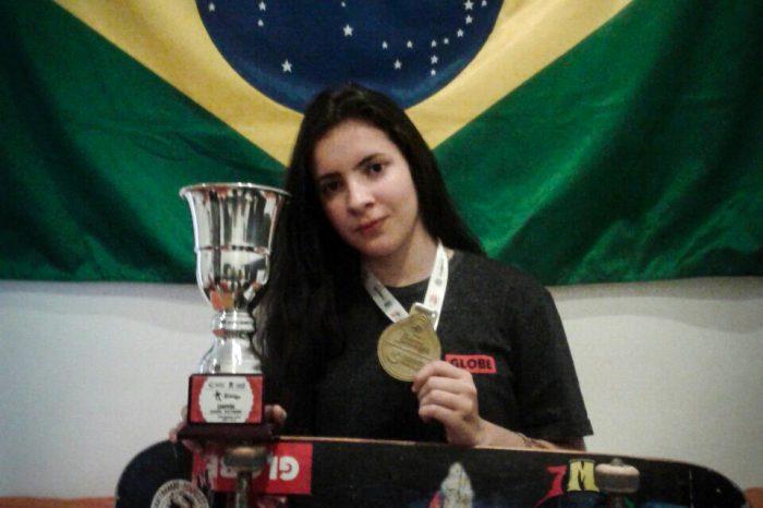 Skatista da Baixada Santista Isabelle Menezes é Ouro no Pan-Americano da Colômbia - (Clique e Compartilhe)