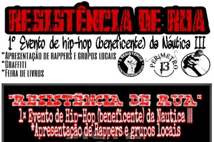 Resistência De Rua Apresenta 1° Movimento Hip-Hop (beneficente) da Náutica III em São Vicente/SP - (Clique e Compartilhe)