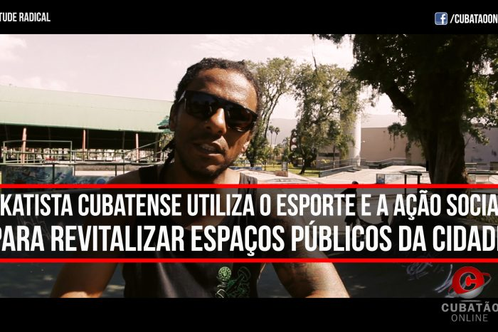 Alísson Skatista Cubatense Utiliza o Esporte e a Ação Social para Revitalizar Espaços Públicos da Cidade - (Clique e Compartilhe)