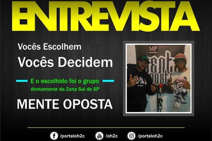 """Confira a Entrevista do Grupo Mente Oposta no Projeto """"Vocês Escolhem, Vocês Decidem""""- (Clique e Compartilhe)"""