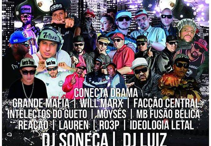 """Festa de Pré Lançamento do CD do grupo Conecta Drama """"Vai na Fé"""" em São Vicente/SP - (Clique e Compartilhe)"""
