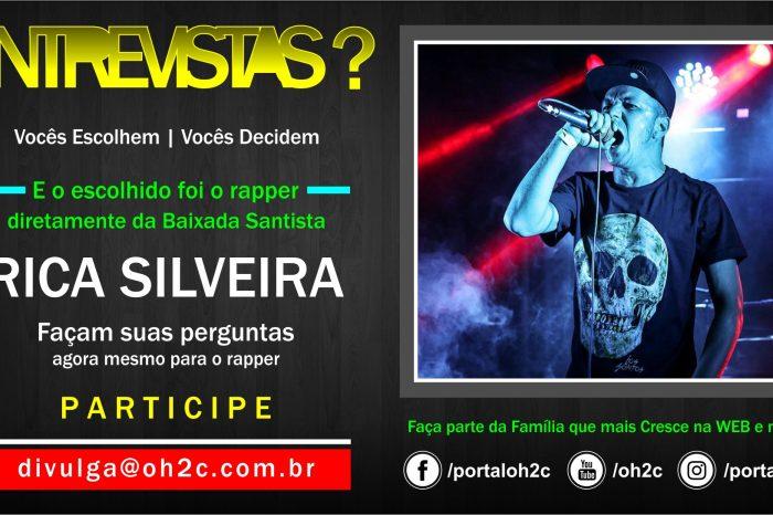 """Confira a Chamada do Rapper Rica Silveira para o Projeto """"Vocês Escolhem, Vocês Decidem"""" Participe – (Clique e Compartilhe)"""