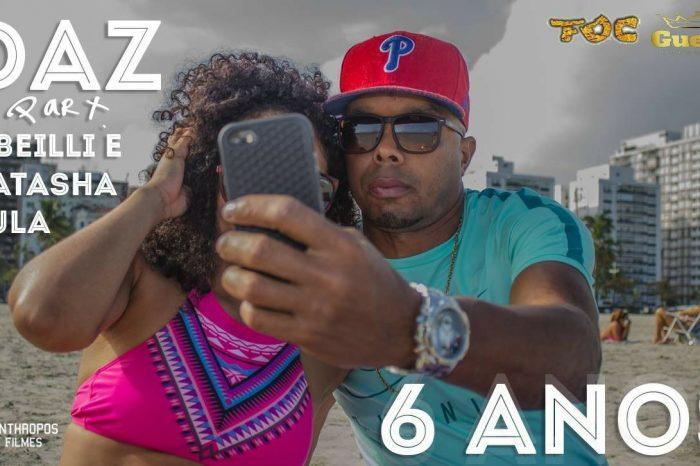 """Confira o Novo Clipe do Rapper DAZ """"6 Anos"""" com Participações de E-Beilli e Natasha Kula - (Clique e Compartilhe)"""