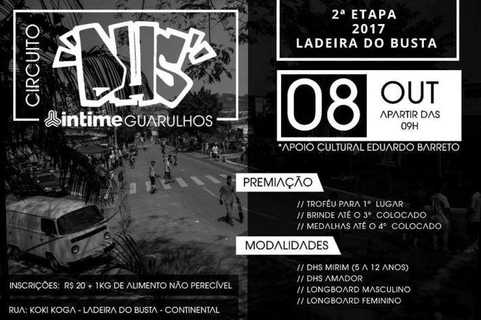 """Circuito DHS INTIME """"2ª Etapa 2017"""" Ladeira do Busta em Guarulhos/SP – (Clique e Compartilhe)"""