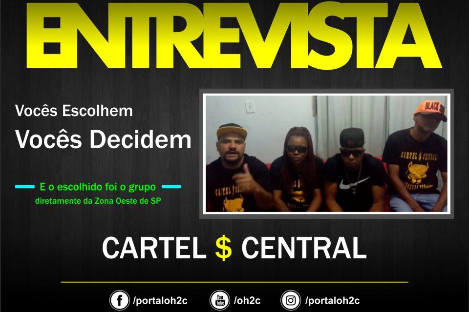 """Confira a Entrevista do Grupo Cartel $ Central no Projeto """"Vocês Escolhem, Vocês Decidem""""- (Clique e Compartilhe)"""