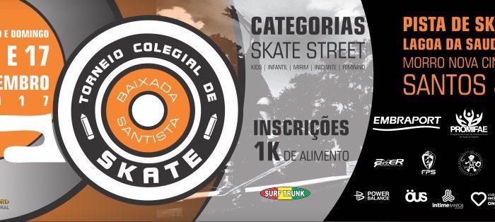 Torneio Colegial de Skate no Morro Nova Cintra em Santos/SP - (Clique e Compartilhe)
