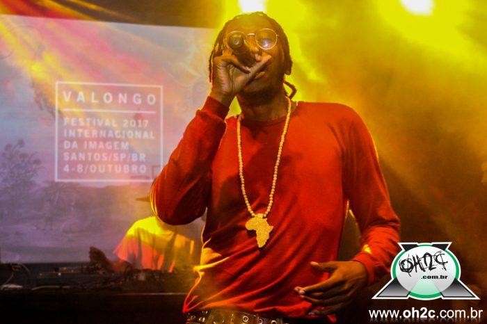 """Fotos do Rapper Rincon Sapiência """"Manicongo"""" no Valongo Festival 2017 em Santos/SP - (Clique e Compartilhe)"""