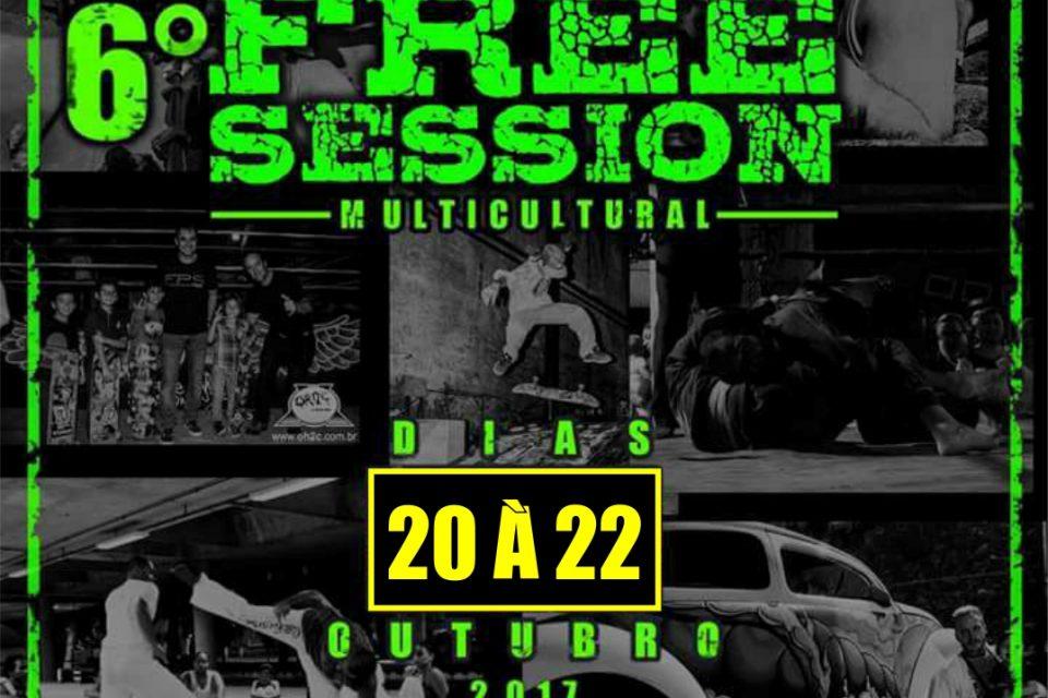 6° Edição do Festival Free Session Multicultural em São Vicente/SP - (Clique e Compartilhe)