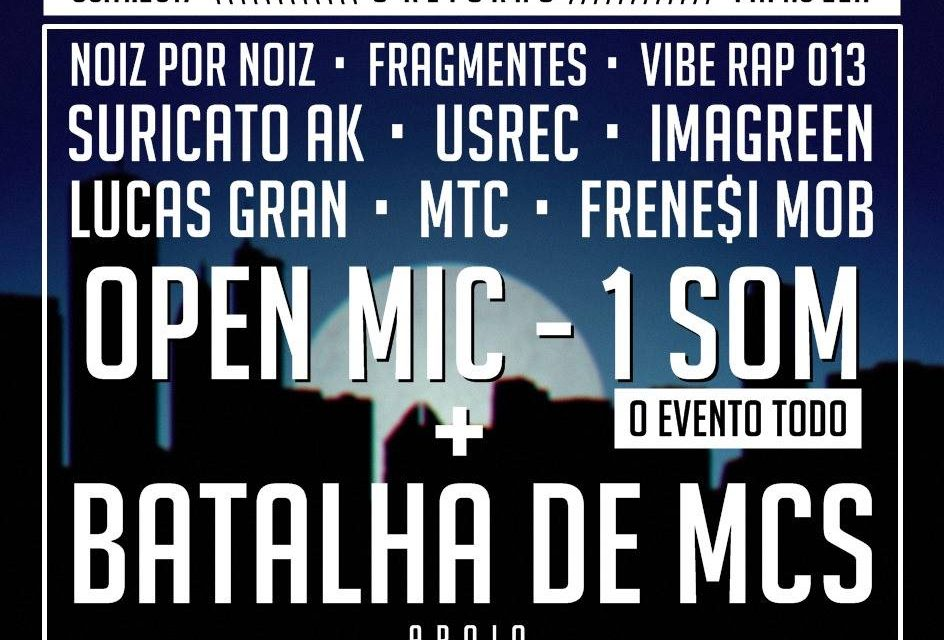 """Rap de Boteco 5ª Edição """"O Retorno"""" em Santos/SP - (Clique e Compartilhe)"""