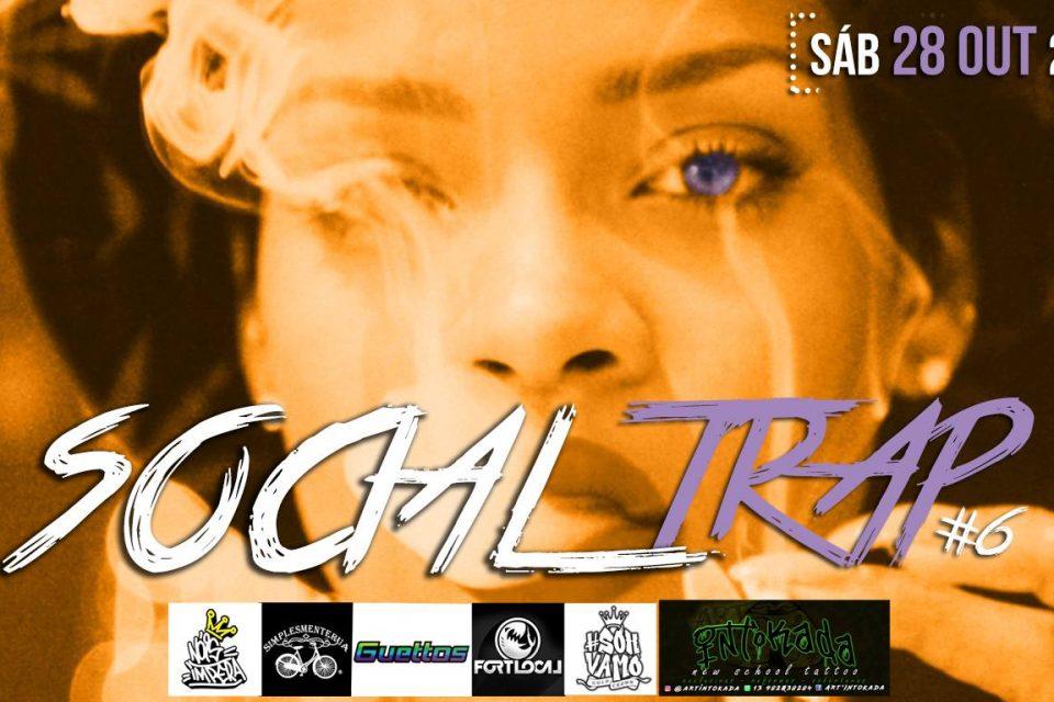 6ª Edição da Festa Social Trap no Centro dos Estudantes em Santos/SP - (Clique e Compartilhe)