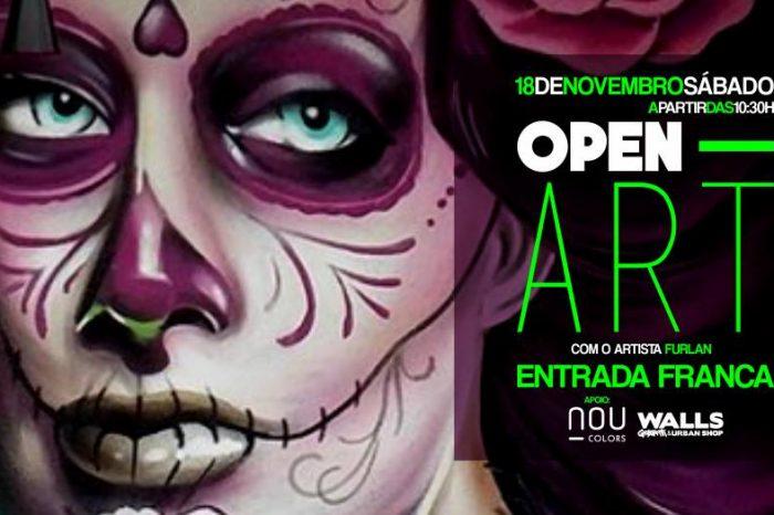 "WALLS Graffiti & Urban Shop Apresentam ""Open Art com Furlan # Oficina Graffiti Gratuita"" em Sorocaba/SP - (Clique e Compartilhe)"