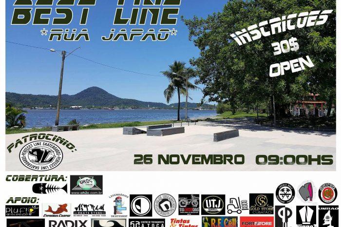 """1° Best Line de SKATE """"Categoria Open"""" da Rua Japão em São Vicente/SP - (Clique e Compartilhe)"""