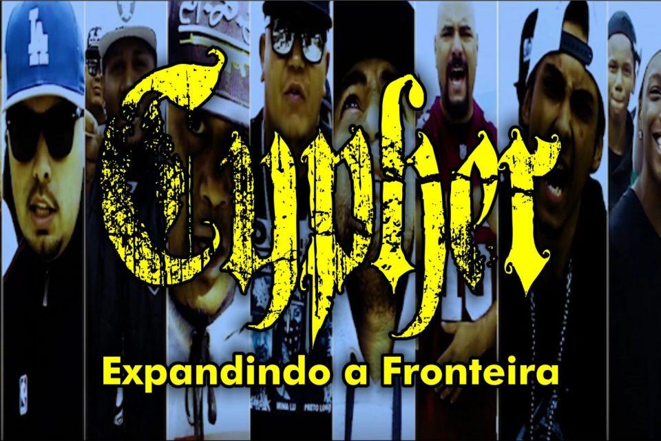 """Rapper Clayton do Grupo """"Periféricos"""" Apresenta Cypher """"Expandindo a Fronteira"""" - (Clique e Compartilhe)"""
