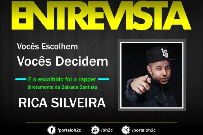 """Confira a Entrevista do Rapper Rica Silveira no Projeto """"Vocês Escolhem, Vocês Decidem"""" - (Clique e Compartilhe)"""