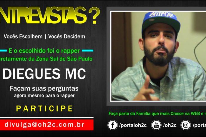 """Confira a Chamada do Rapper Diegues MC para o Projeto """"Vocês Escolhem, Vocês Decidem"""" Participe – (Clique e Compartilhe)"""