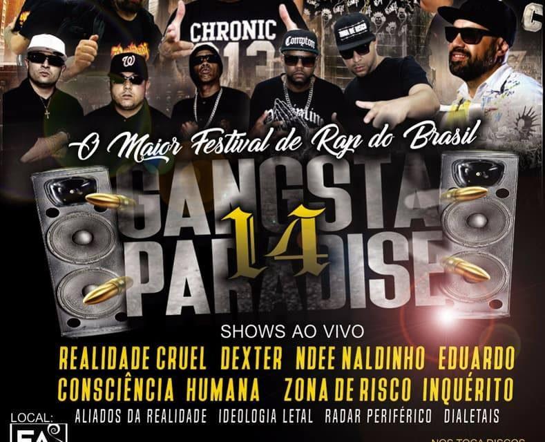 """Gangsta Paradise 14 - """"Especial Final de Ano"""" em São Bernardo do Campo/SP - (Clique e Compartilhe)"""
